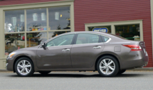 2013 Nissan Altima 2.5 SV side view