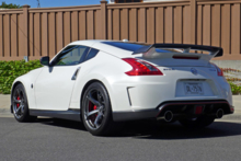 2014 Nissan 370Z Nismo rear view