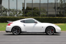 2014 Nissan 370Z Nismo side view