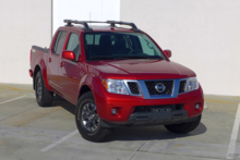 2014 Nissan Frontier front view