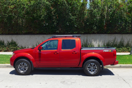 2014 Nissan Frontier side view