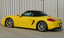 2014 Porsche Boxster back view