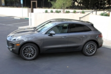 2015 Porsche Macan top side view