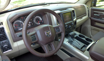 2013 Ram 1500 Outdoorsman Crew Cab 4x4 interior