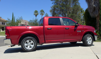 2013 Ram 1500 Outdoorsman Crew Cab 4x4 side view