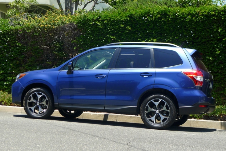 2014 Subaru Forester 2.0 XT Touring left side view