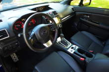 2016 Subaru WRX Limited interior
