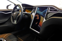 2014 Tesla 2014 Tesla Model S dashboard