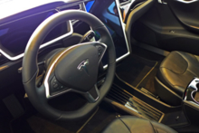 2014 Tesla 2014 Tesla Model S Steering Wheel