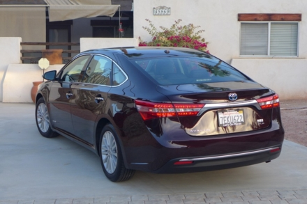 2015 Toyota Avalon Hybrid rear view