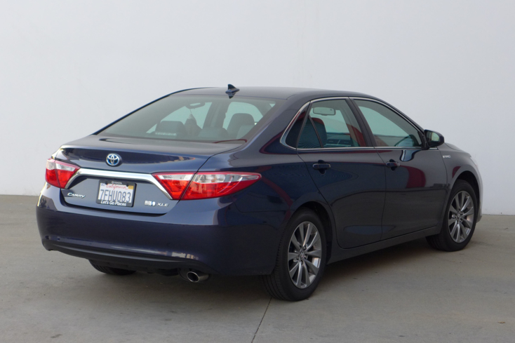 2015 Toyota Camry Hybrid rear view