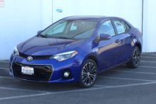 2015 Toyota Corolla front view