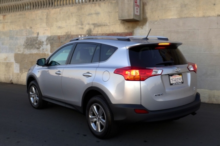 2015 Toyota RAV4 rear view