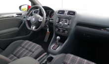 2014 Volkswagen GTI 4-Door interior view