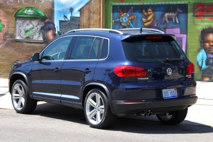 2014 Volkswagen Tiguan rear view