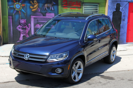 2014 Volkswagen Tiguan top view