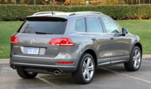 2014 Volkswagen Touareg TDI R-Line back view