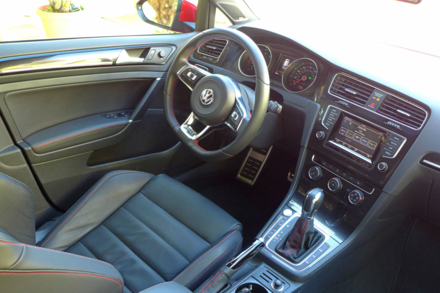 2015 Volkswagen GTI 4-Door interior