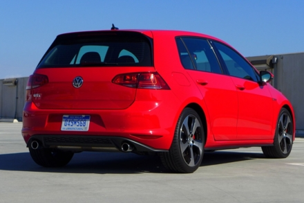 2015 Volkswagen GTI 4-Door rear view