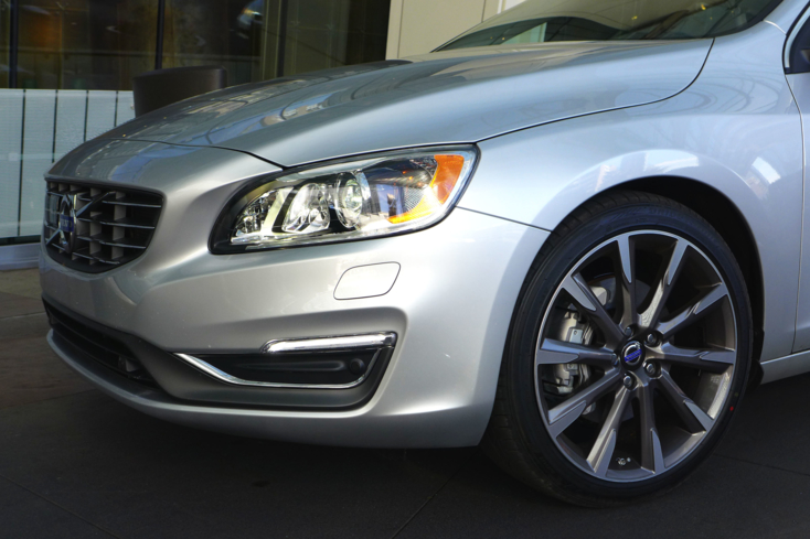 2015 Volvo S60 close up