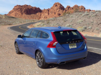 2015 Volvo V60 T5 Drive-E rear view