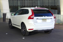 2015 Volvo XC60 back view