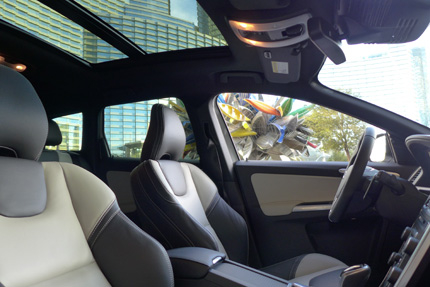 2015 Volvo XC60 panoramic sunroof
