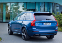 2016 Volvo XC90 T6 AWD R-Design rear