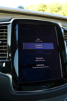 2016 Volvo XC90 T6 touch screen