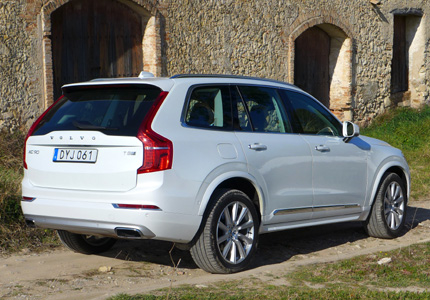 2016 Volvo XC90 T8 Hybrid rear view