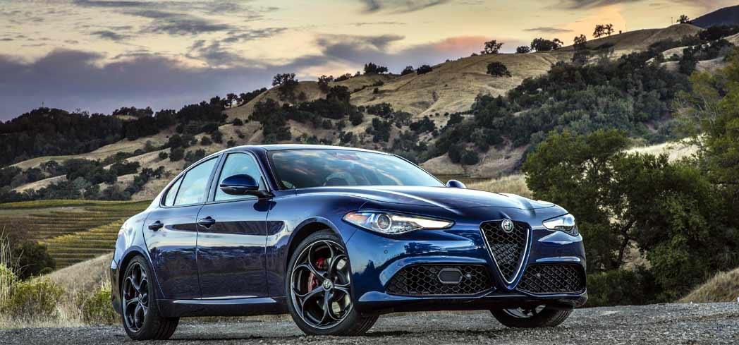 2017 Alfa Romeo Guigli, one of GAYOT's Best 4-Door Sports Cars