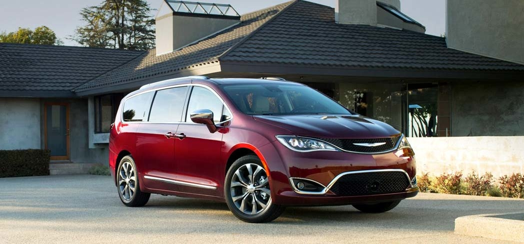 The 2017 Chrysler Pacifica Hybrid, one of GAYOT's Best Cars for Moms