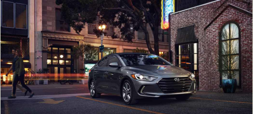 Urban dwellers will like the 2017 Hyundai Elantra, one of GAYOT's Best City Cars