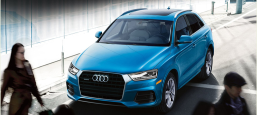 The 2017 Audi Q3 Crossover, one of GAYOT's Best Crossover Vehicles