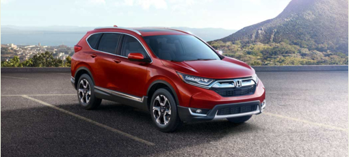 The 2017 Honda CRV, one of GAYOT's Best Crossover Vehicles