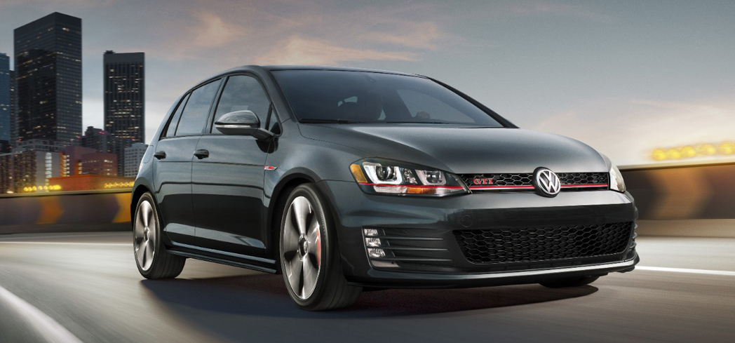 The 2017 VW Golf GTI, one of GAYOT's Best Hatchbacks