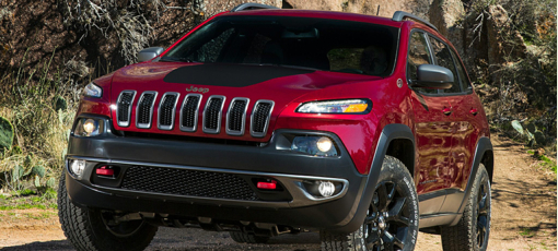 The 2016 Jeep Cherokee Trailhawk 4x4, one of GAYOT's Best SUVs