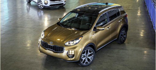 The 2017 Kia Sportage, one of GAYOT's Best SUVs