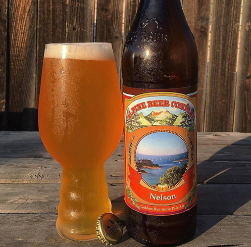 Alpine Nelson offers a hoppy flavor balanced by grapefruit notes