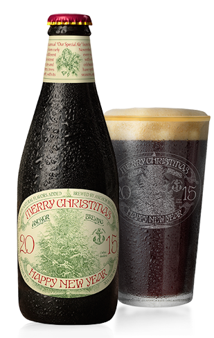 Anchor Christmas Ale has been brewed since 1975