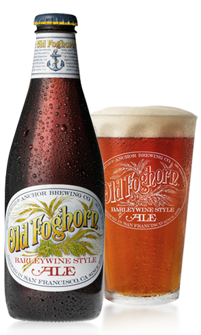 Anchor Old Foghorn Ale has a thick texture with a warm finish