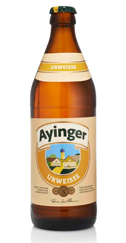 Ayinger Ur-Weisse is smooth, rich and complex