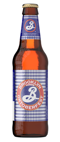 Brooklyn Oktoberfest is caramel-scented and sweet with a hint of nuttiness