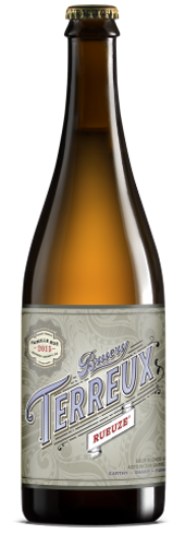 Bruery Terreux Rueuze is a blend of sour blonde ales