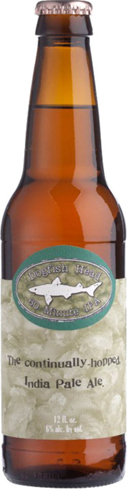 Dogfish Head 60 Minute IPA is so named for the more than 60 hop additions over a 60-minute boil