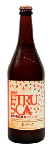 Dogfish Head Birra Etrusca Bronze has flavors of sweet fruit and honey