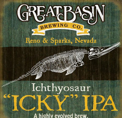 Great Basin Ichthyosaur is named after Nevada's official state fossil
