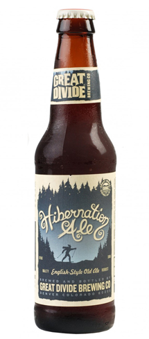 Great Divide Hibernation Ale contains liberal helpings of caramel malt
