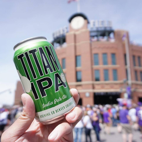Great Divide Titan IPA is a refreshing take on the IPA style