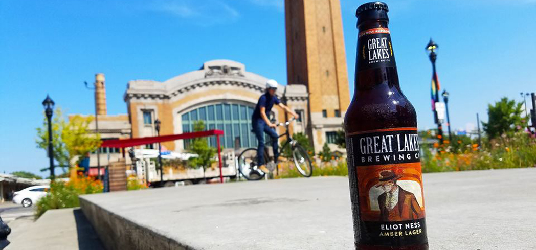 Great Lakes Eliot Ness Amber Lager has nutty Munich and sweet Caramel malts